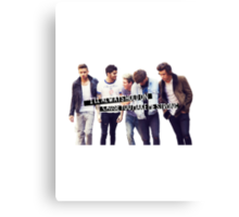Strong - One Direction Canvas Print