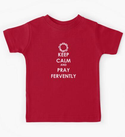 Keep Calm ... Pray Kids Tee