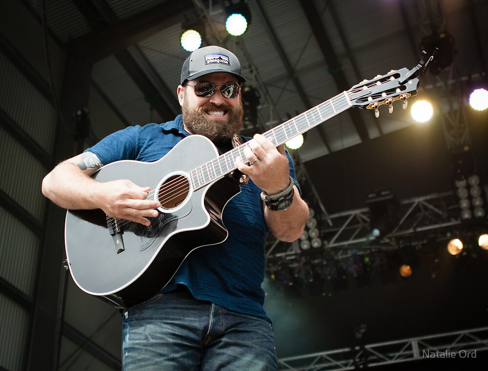 Zac Brown #2 by Natalie Ord