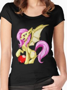 Flutterbat Women's Fitted Scoop T-Shirt