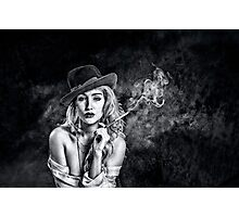 Smokey Photographic Print