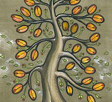 l'arbres aux hot-dogs- hot-dogs tree by Julie  Savard