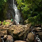 Lower Pahnsapw Falls - Pohnpei, Micronesia by Alex Zuccarelli