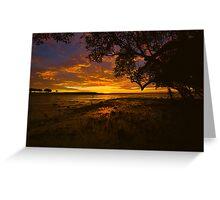 Roebuck Bay Sunrise Greeting Card