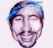 Tupac Shakur by Jamilology