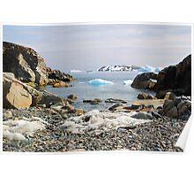 Cierva Cove Antarctica Poster