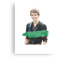 No Kings in Neverland - Peter Pan Canvas Print