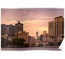 West Palm Beach Architecture Poster