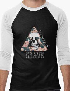 Bastille Skulls Men's Baseball ¾ T-Shirt