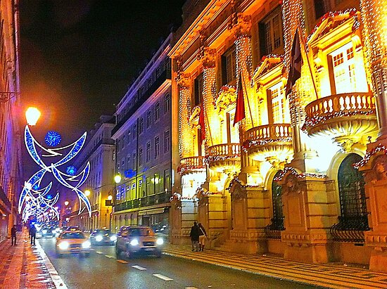 1st January 2014. Rua do Ouro. Lisbon. (iPhone) by terezadelpilar~ art & architecture