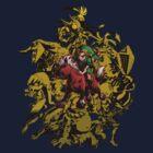 Majora's Mask - Gold by Brian Scheid