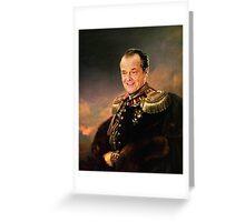 "Sir Jack ""Mulholland Man"" Nickolson Greeting Card"