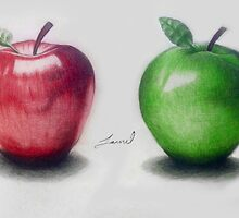 Apples by Jamilology