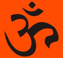 ohm mantra om yoga indian symbol by huggymauve