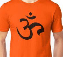 ohm mantra om yoga indian symbol Unisex T-Shirt