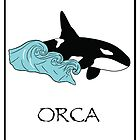 Save Orcas T-shirt, Hoodie, Sticker, Art Print, iPhone Case, Samsung Galaxy Case, Or iPad Case by Diana Graves Photography