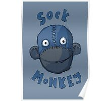 Crafty Sock Monkey Always Happy to See You ! Poster