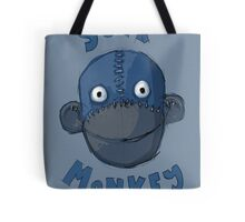 Crafty Sock Monkey Always Happy to See You ! Tote Bag