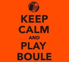 Keep calm and play Boule Boccia Kids Clothes