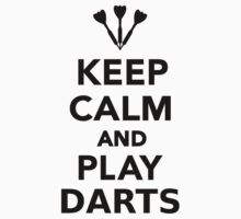 Keep calm and play Darts Kids Clothes