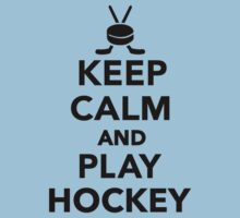 Keep calm and play Hockey  by Designzz