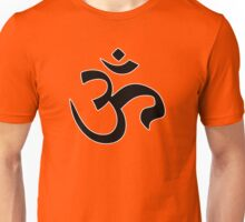 ohm mantra om yoga indian symbol Unisex T-Shirt