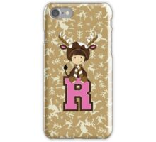 R is for Reindeer iPhone Case/Skin