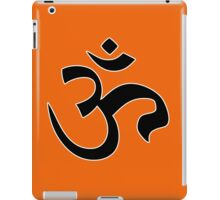 ohm mantra om yoga indian symbol iPad Case/Skin