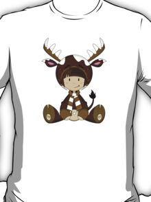 Cute Reindeer Kid T-Shirt