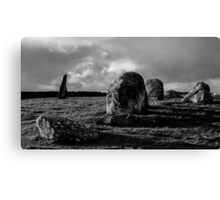Long Meg - The Druid Stone Circle Canvas Print