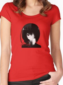 Misaki Mei - Another Women's Fitted Scoop T-Shirt