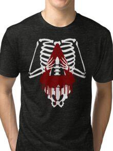 Bloody Bastille Skeleton Tri-blend T-Shirt