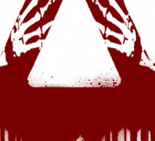 Bloody Bastille Skeleton Sticker