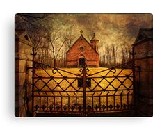 Haight Mausoleum Canvas Print