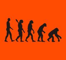 Evolution backwards Kids Clothes