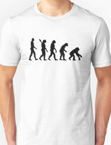 Evolution backwards T-Shirt
