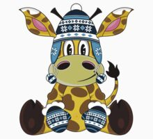 Cute Giraffe Pattern Kids Clothes