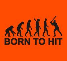 Evolution born to Baseball Kids Clothes