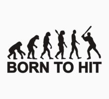 Evolution born to Baseball by Designzz