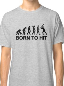 Evolution born to Baseball Classic T-Shirt