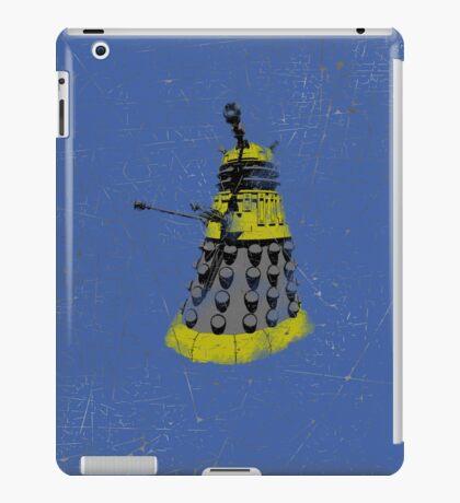 Vintage Look Half Tone Doctor Who Dalek Graphic iPad Case/Skin