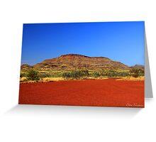 Pilbara Red Greeting Card