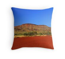 Pilbara Red Throw Pillow