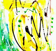 Untitled Abstract Painting by Vincent J. Newman