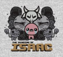 The Binding of Isaac - Monsters (Grey) by QuestionSleepZz