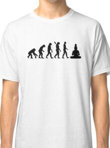 Buddha Evolution  Classic T-Shirt