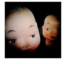 Dolls in Conspiring Photographic Print