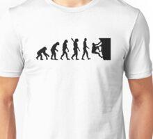 Evolution rock climbing Unisex T-Shirt