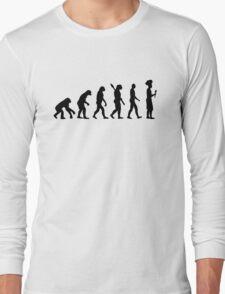 Evolution cook chef  Long Sleeve T-Shirt