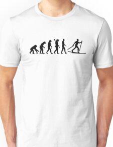 Evolution Cross country skiing Unisex T-Shirt